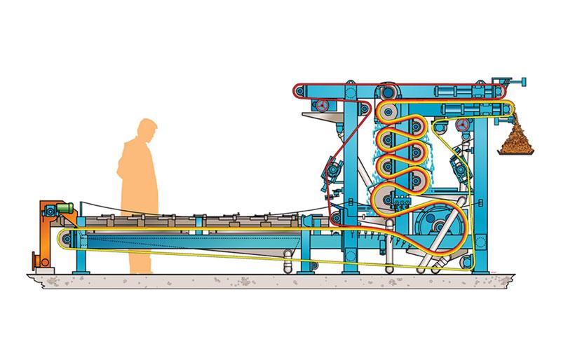 2VP Model Belt Press