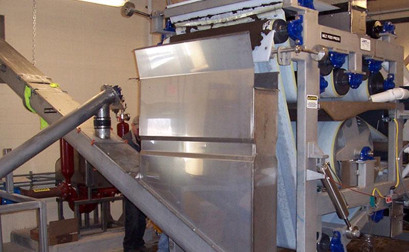 E Model Belt Press